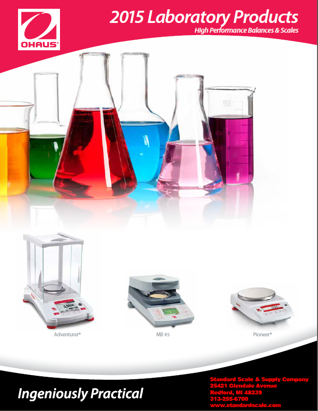 Ohaus Lab World Catalog